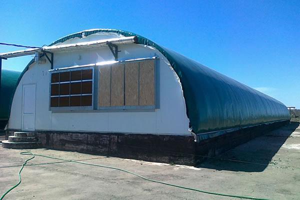 Naves ganaderas naves avicolas carpas industriales xinli for Criadero de carpas